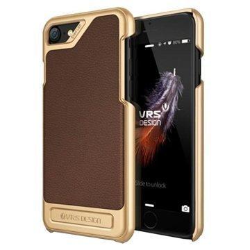 """iPhone 7 VRS Design Simpli Mod suojakuori â"""" Ruskea"""