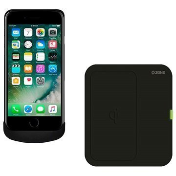 iPhone 7 Zens Wireless Charging Bundle Black
