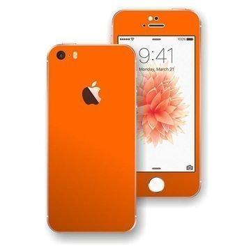 iPhone SE EasySkinz Matt Skin Oranssi