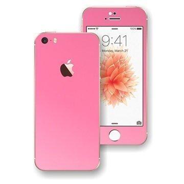 iPhone SE EasySkinz Matt Skin Pinkki