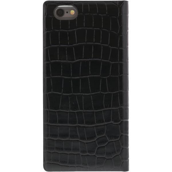 iPhone6 Smart Diarycase suojus/lompakko nahka musta
