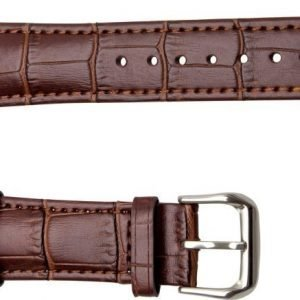 iZound Apple Watch Leather Croc Band 38 mm Brown