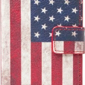 iZound Flag Wallet USA iPhone 4/4S