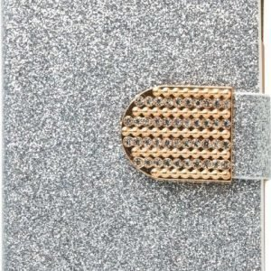 iZound Glitter Wallet iPhone 6/6S Silver