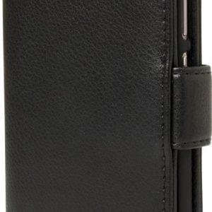 iZound Leather Wallet Case Huawei P9 Black