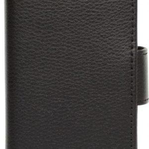 iZound Leather Wallet Case LG L40 Black