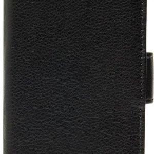 iZound Leather Wallet Case Lenovo Moto E3 (3rd gen) Black