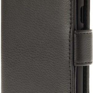 iZound Leather Wallet Case Lenovo Moto G4/G4 Plus Black