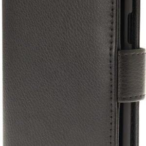 iZound Leather Wallet Case OnePlus 3 Black