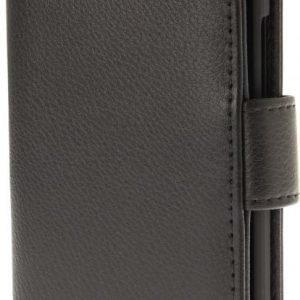 iZound Leather Wallet Case OnePlus X Black