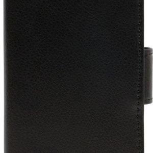 iZound Leather Wallet Case Samsung Galaxy A3 (2016) SM-A310 Black