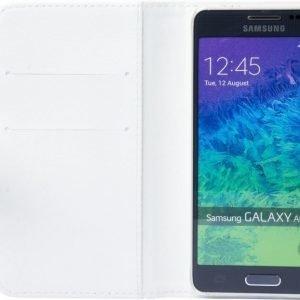 iZound Leather Wallet Case Samsung Galaxy Alpha White