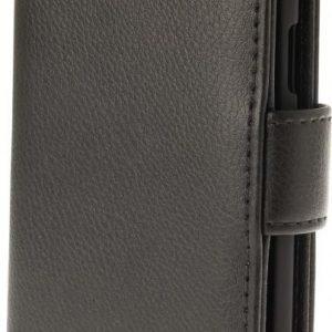 iZound Leather Wallet Case Samsung Galaxy J3 2016 SM-J320F Black