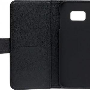 iZound Leather Wallet Case Samsung Galaxy S6 Edge+ Black