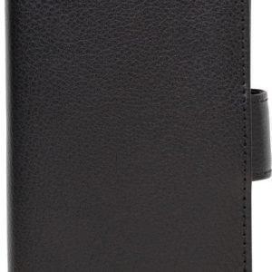 iZound Leather Wallet Case Samsung Galaxy S6 Edge Black