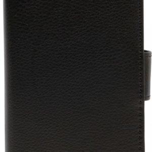iZound Leather Wallet Case Samsung Galaxy S7 Edge Black