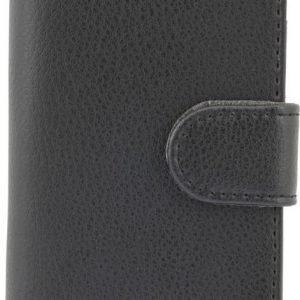 iZound Leather Wallet Case iPhone 5C Black