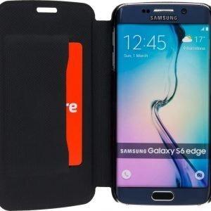 iZound Slim Wallet Samsung Galaxy S6 Edge Black