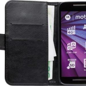 iZound Wallet Case Motorola Moto G (3rd gen) Black
