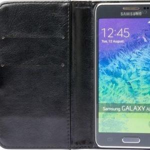 iZound Wallet Case Samsung Galaxy Alpha Black