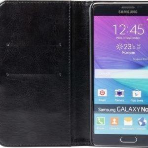 iZound Wallet Case Samsung Galaxy Note 4 Black
