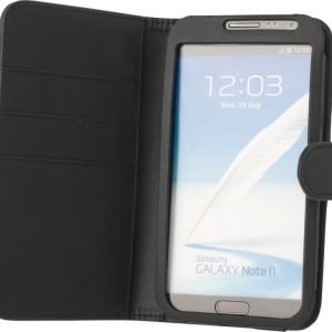 iZound Wallet Case Samsung Galaxy Note II Black