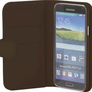 iZound Wallet Case Samsung Galaxy S5 Dark Brown