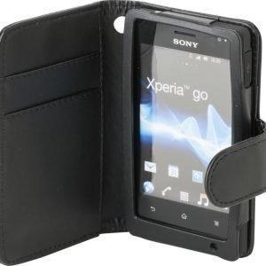 iZound Wallet Case Sony Xperia Go Black