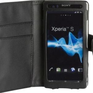 iZound Wallet Case Sony Xperia S Black