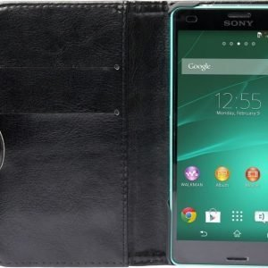 iZound Wallet Case Sony Xperia Z3 Compact Black