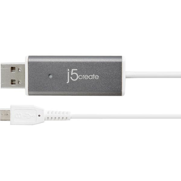 j5 create Android Mirror Cable USB tyyppi A ur micro B ur 1 2m