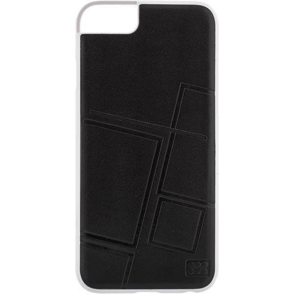 promate Slit-i6 muovikuori iPhone 6:lle nahkatausta va/mu