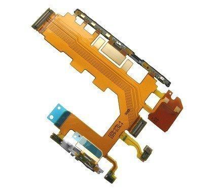 sivu key Kaapeli Mikrofoni Sony D6502/ D6503/ D6543/ L50w Xperia Z2 Alkuperäinen