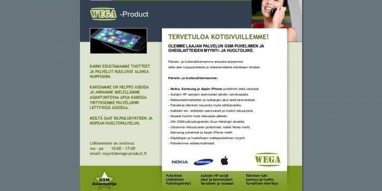 Wega-Product Oy Ab